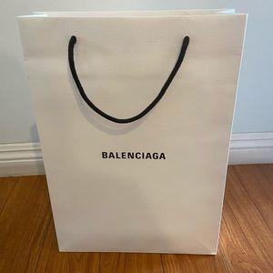 Balenciaga gift bag